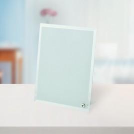 Стъклена фоторамка със снимка